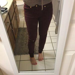 Michael Kors Skinny Jeans 👖💜 sz 2